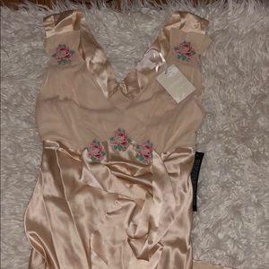 NWT TOPSHOP Silk Gown
